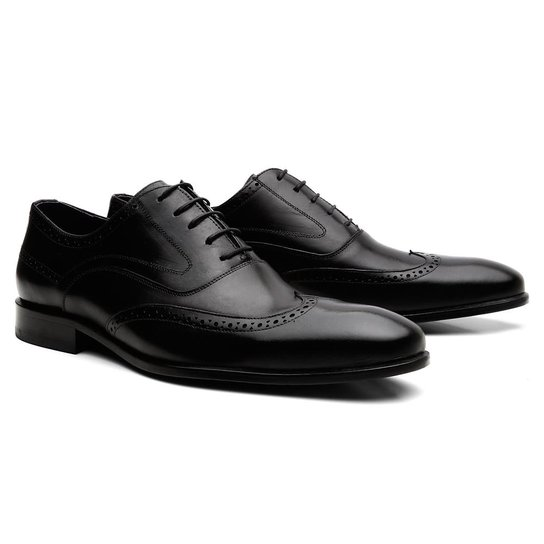 e17f99e684 Sapato Social Com Cadarço Zuric Oxford Charles Masculino - Compre ...