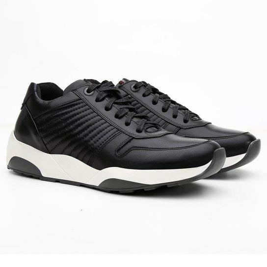 66020ab469 Tênis Sneaker Rich Masculino - Preto - Compre Agora