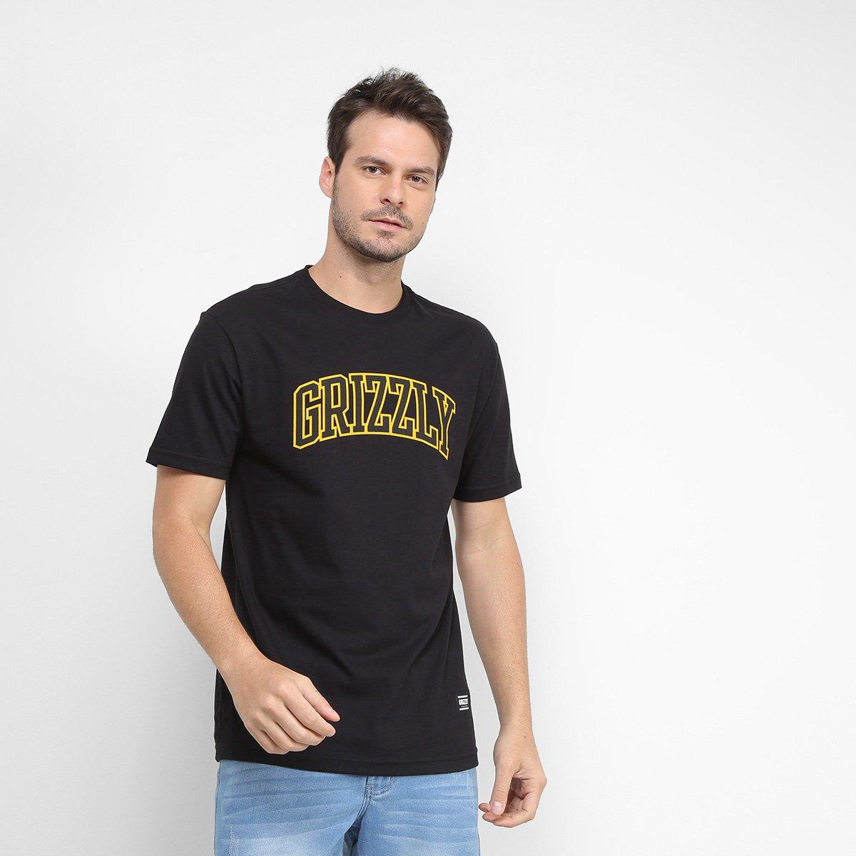Camiseta Grizzly University Masculina