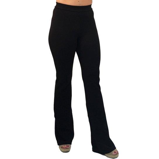285ab3591 Calça 101 Resort Wear Flare Cintura Alta Feminina - Compre Agora ...