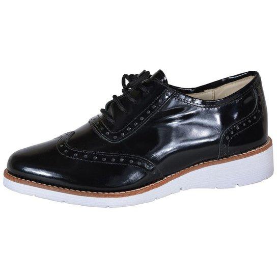 581c6250f Sapato Oxford Eagle Black | Zattini