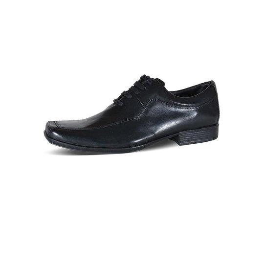 a4172b163 Sapato Social Tradicional Eagle Black - Preto | Zattini