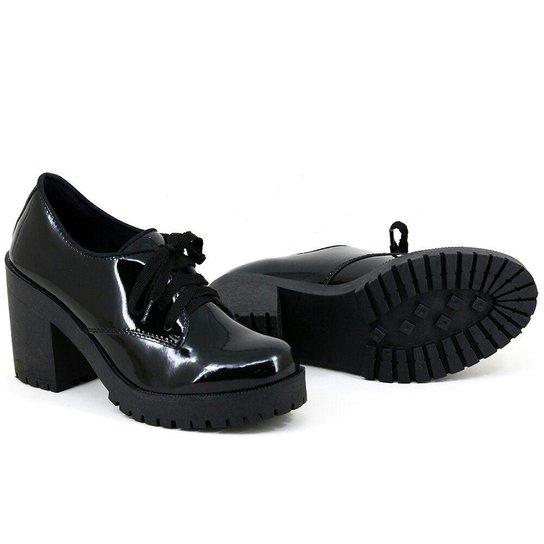 5475323571 Sapato Oxford CR Shoes Tratorado Verniz - Compre Agora