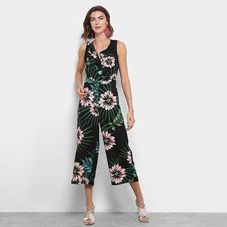 5a99a7e59 Macacão Longo Lily Fashion Regata Floral