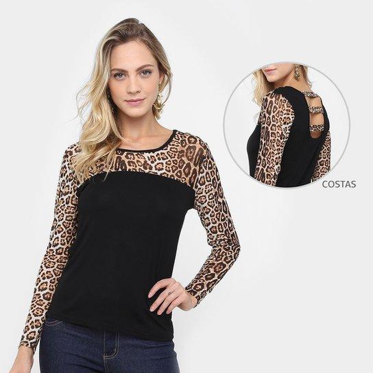 54359360f8 Blusa Holin Stone Estampada Feminina - Compre Agora