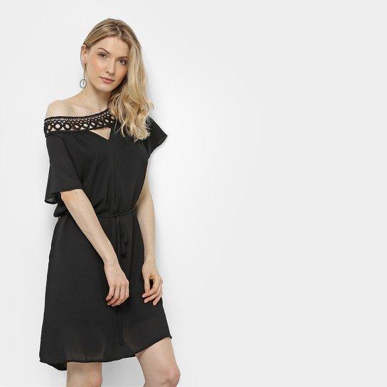 0b79dd70b Vestido Holin Stone com Bordado Feminino - Compre Agora | Zattini