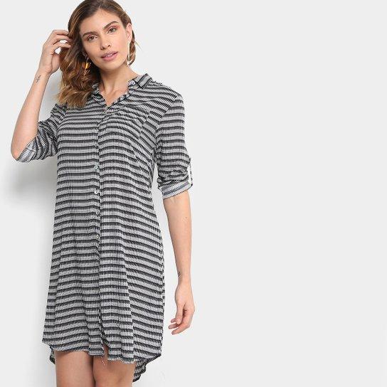 Vestido Mixxon Chemise Curto Estampado - Compre Agora   Zattini b10e544256