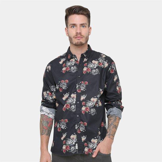 ... Camisa MCD Flower Fish Manga Longa Masculina - Compre Agora Zattini  6ca315ebe0811f ... 092b114e20
