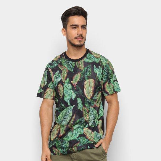 Camiseta MCD Especial Full Atlantic Forest Masculina - Preto ... 90e0cacd4fb