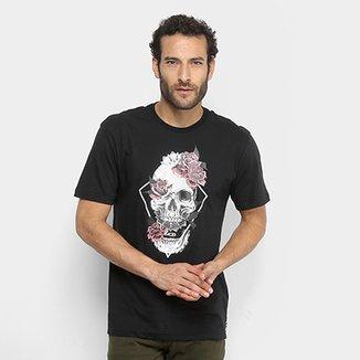 Camiseta MCD Regular Skull Flower Masculina 0e4652342c6