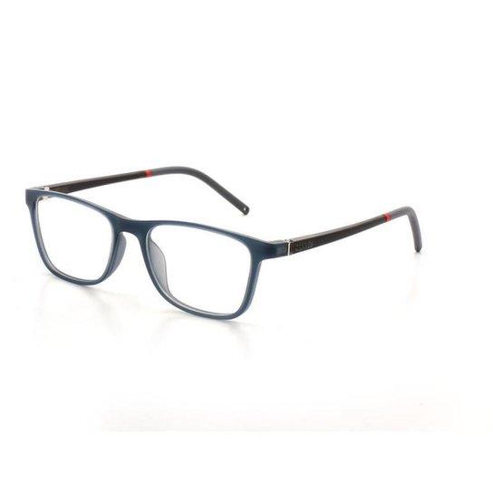 Armação De Óculos De Grau Cannes 011 T 45 C 2 Masculino - Preto ... fed0e77e2b