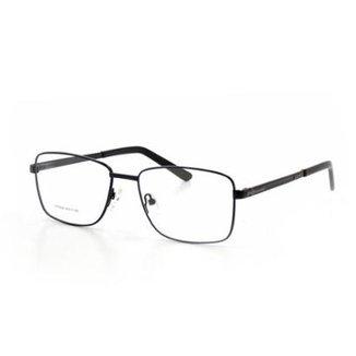 e85141199a60a Armação De Óculos De Grau Cannes 66024 T 54 C 4 Metal Masculino