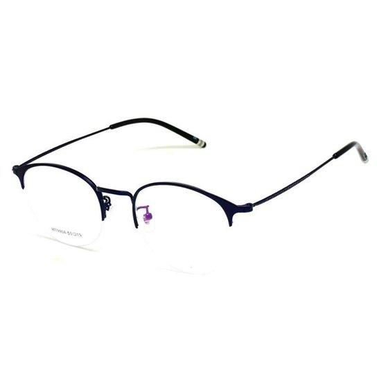 af00fd5a85534 Armação De Óculos De Grau Cannes 9904 T 50 C Moderno Masculino - Preto