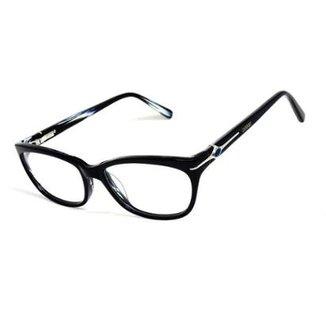 66c6a2f003381 Armação De Óculos De Grau Cannes 8012 T 53 C Icônico Feminino