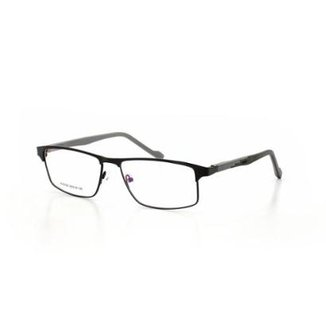 653f97d8f3dce Armação De Óculos De Grau Cannes 6026 T 56 C 1 Masculino Metal