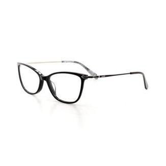eba1fd273f934 Armação De Óculos De Grau Cannes 2942 T 53 C 1 Gatinho Feminino