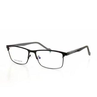 ee3ed69df Armação De Óculos De Grau Cannes 6022 T 55 C 1 Masculino Metal