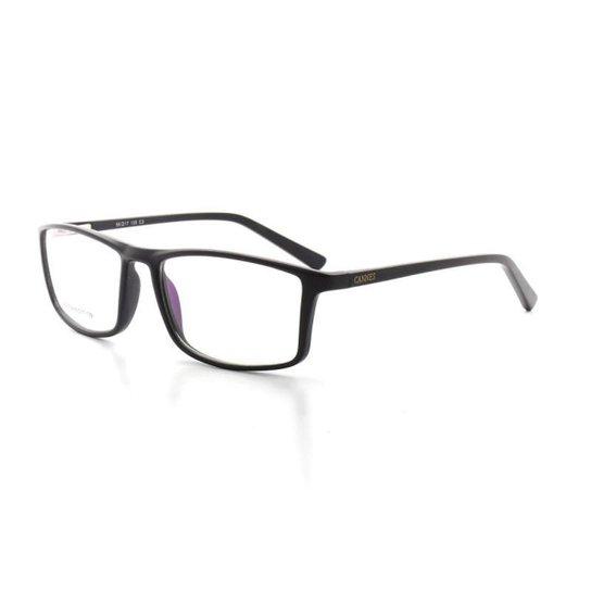 a4f9de656cfe8 Armação De Óculos De Grau Cannes 3039 T 56 C 3 Masculino Casual - Preto