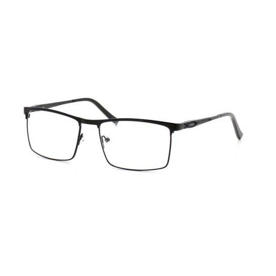 Armação De Óculos De Grau Cannes 80278 T 57 C 1 Masculino Metal - Preto 0d626f5b21