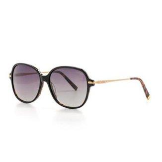 a21ea929b Óculos de Sol Cannes Polarizado Proteção UV Redonda Feminino
