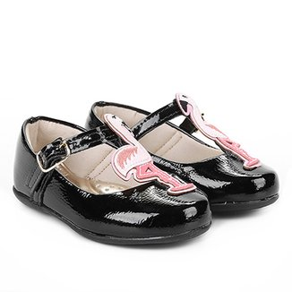 836ac845a2 Sapatilha Infantil Bella Ninna Flamingo Feminina