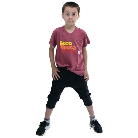 3a6a5a5a5 Bermuda Saruel Infantil Comfy - Preto - Compre Agora
