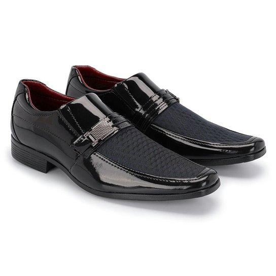 7872391c8 Sapato Social Elegante Schiareli - Preto - Compre Agora   Zattini
