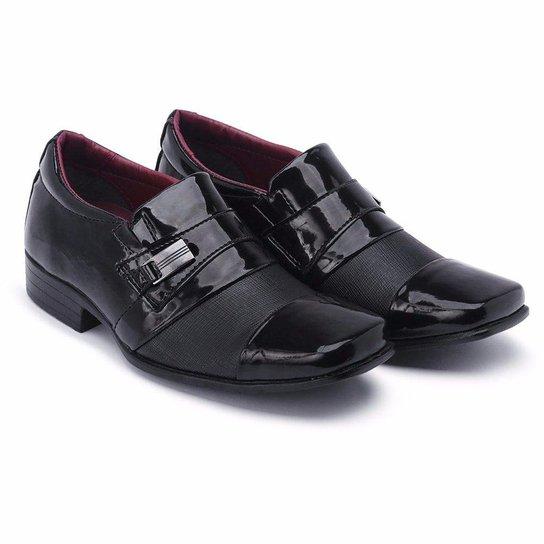 09f84517e42 Sapato Social Schiareli Infantil Luxo Verniz - Preto - Compre Agora ...