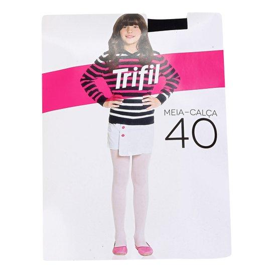 553cb1e92 Meia Calça Infantil Trifil Básica - Preto - Compre Agora