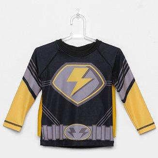 7cfb0eb683 Camiseta Infantil Tip Top Com Capa Masculina