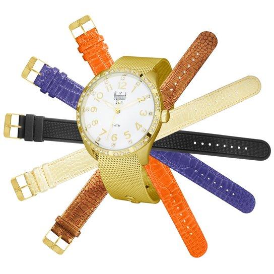 4dbb7af7bba Relógio Dumont Feminino Bali - Compre Agora