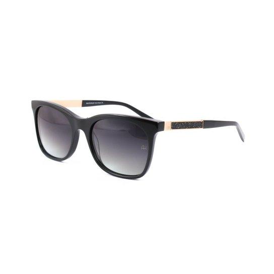 28cd9f9bb8c30 Óculos de Sol Ana Hickmann - Preto - Compre Agora   Zattini