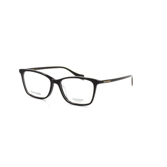 2442e0a505250 Armação De Óculos De Grau Ana Hickmann 6338 T 53 C A01 Feminino - Preto