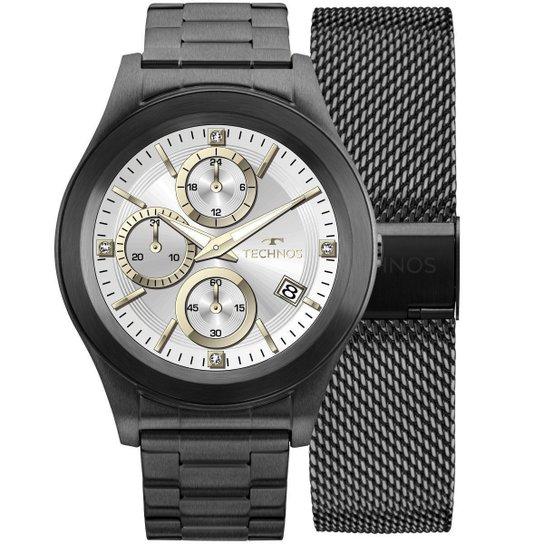 Relógio Masculino Technos SMARTWATCH SRAF 4P Pulseira Preta - Compre ... 61a1626a1a