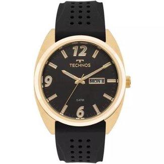 e19bd473519 Relógio Masculino Technos 2305AT 8P Silicone