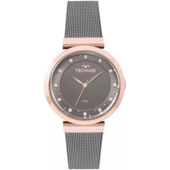ebb7923a766 Relógio Feminino Technos 2035MMW 4C 36mm Aço - Preto - Compre Agora ...