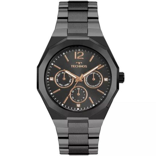 0d92d5e2d2f Relógio Feminino Technos 6P29AJE 4P 40mm Aço - Preto - Compre Agora ...