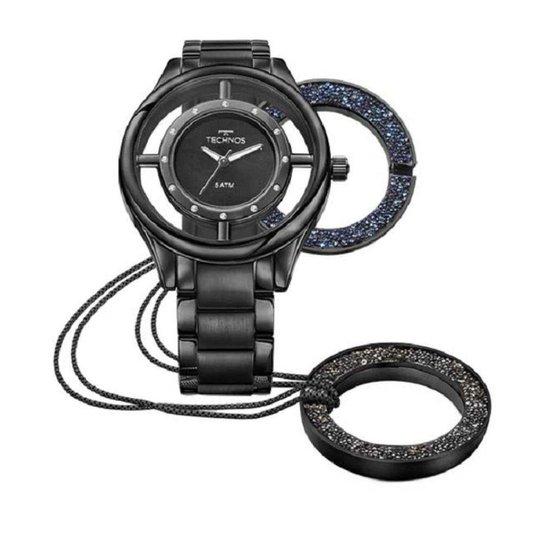 c64393e5e04 Kit Relógio Feminino Technos Signature Gl30fm 4P - Compre Agora ...