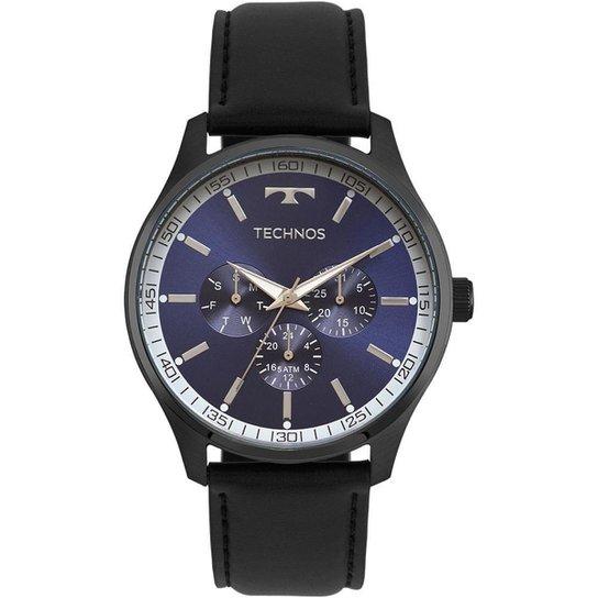 fbabe30523cb0 Relógio Technos Masculino Steel - 6P29AJP 2A 6P29AJP 2A - Preto ...