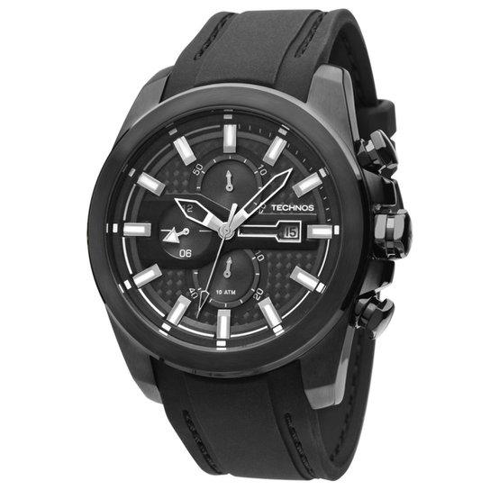 Relógio Technos Masculino Preto - OS10EL 8P OS10EL 8P - Compre Agora ... 42aa556840