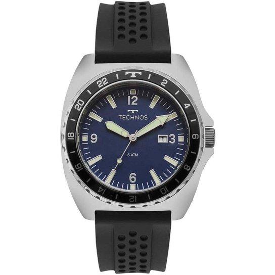 bde0eab6b88dc Relógio Technos Masculino Racer - Preto - Compre Agora