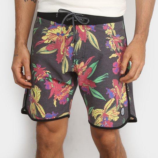 406764d08 Bermuda Água Redley Surf Festival Floral Color Masculina - Compre ...