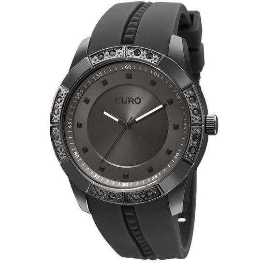 e29fdaf329a Relógio Feminino Euro Analógico Fashion Fit Sabrina Sato - Eu2036yela 8D -  Preto