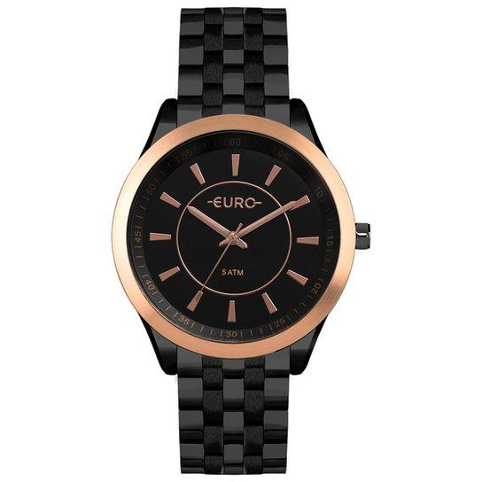 930eb824c87 Relógio Euro Feminino Color Slim - EU2035YOW 4P EU2035YOW 4P - Preto ...