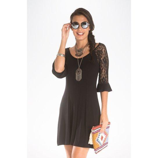 d0c5dd050 Vestido Malha Lisa Mercatto - Compre Agora | Zattini