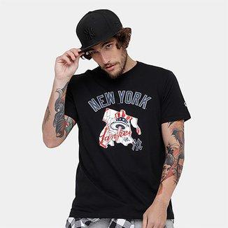 3d18a06779834 Camiseta MLB New York Yankees New Era 11 Team Masculina