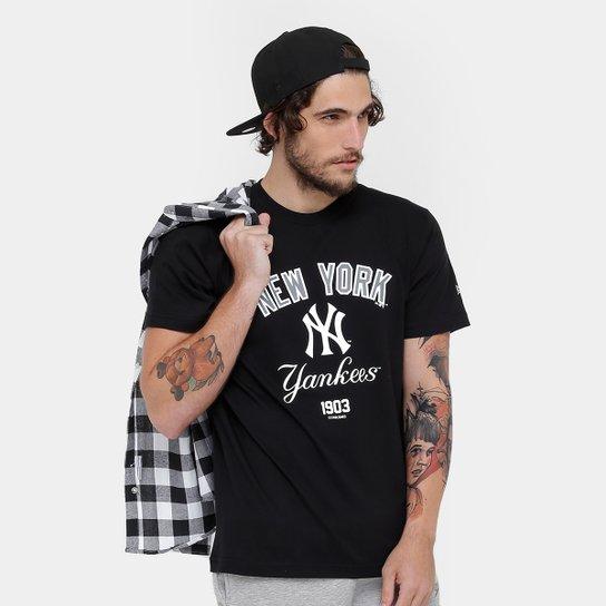 Camiseta MLB New York Yankees New Era 3 Righ Masculina - Compre ... 2ede72114e3