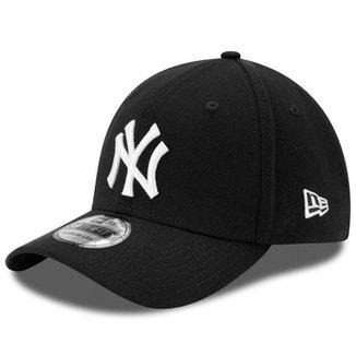e662445ef36b6 Boné New Era Aba Curva Fechado Mlb Ny Yankees Colo