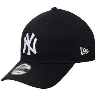 1dfac9bb2199d Boné New Era Aba Curva Snapback Mlb Ny Yankees Col