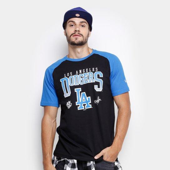 128553ba30922 Camiseta MLB Los Angeles Dodgers New Era 20 Division Masculina - Preto